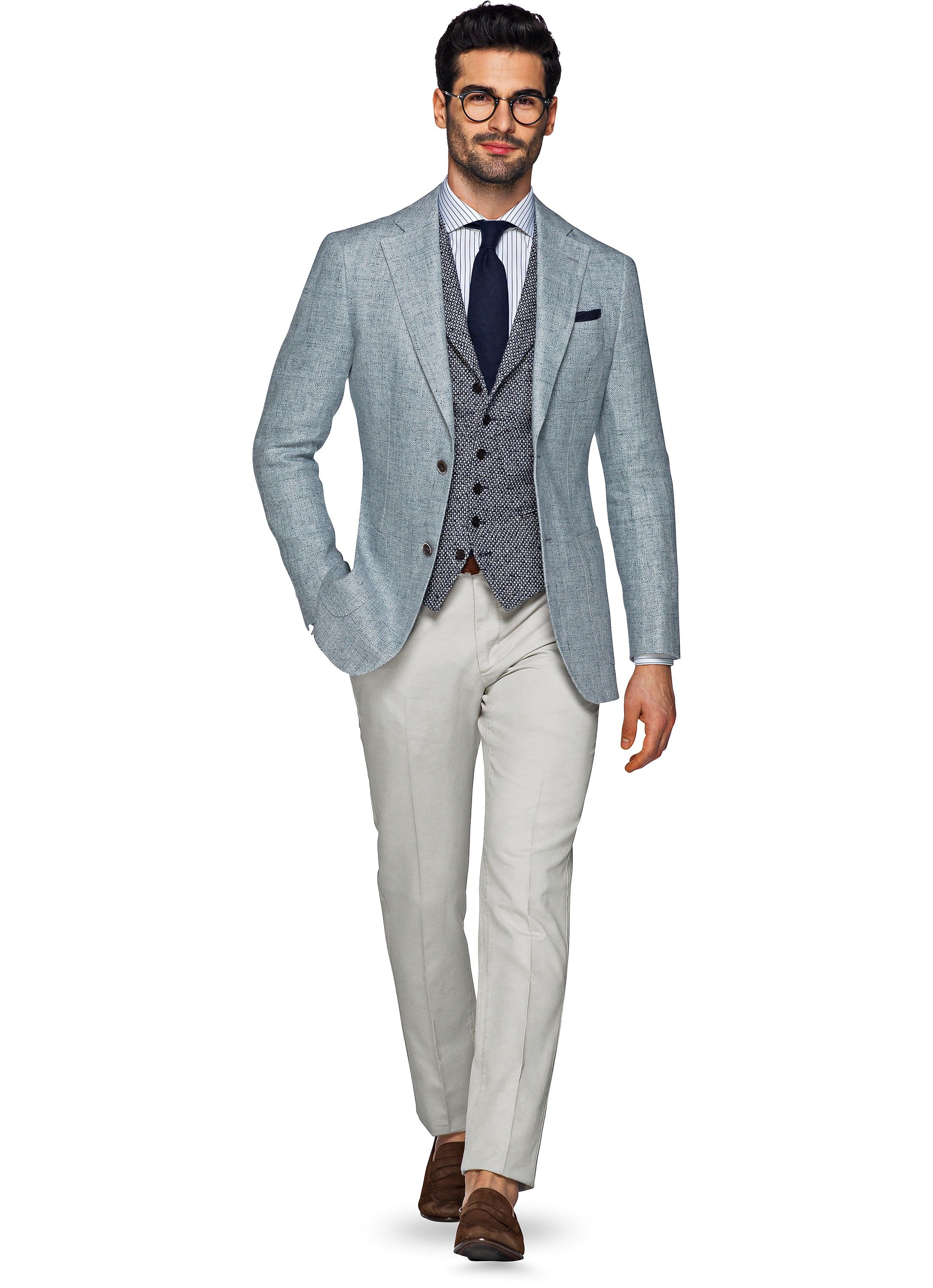 Hedendaags Off White Washed Chino B762   Suitsupply Online Store   New look OK-47