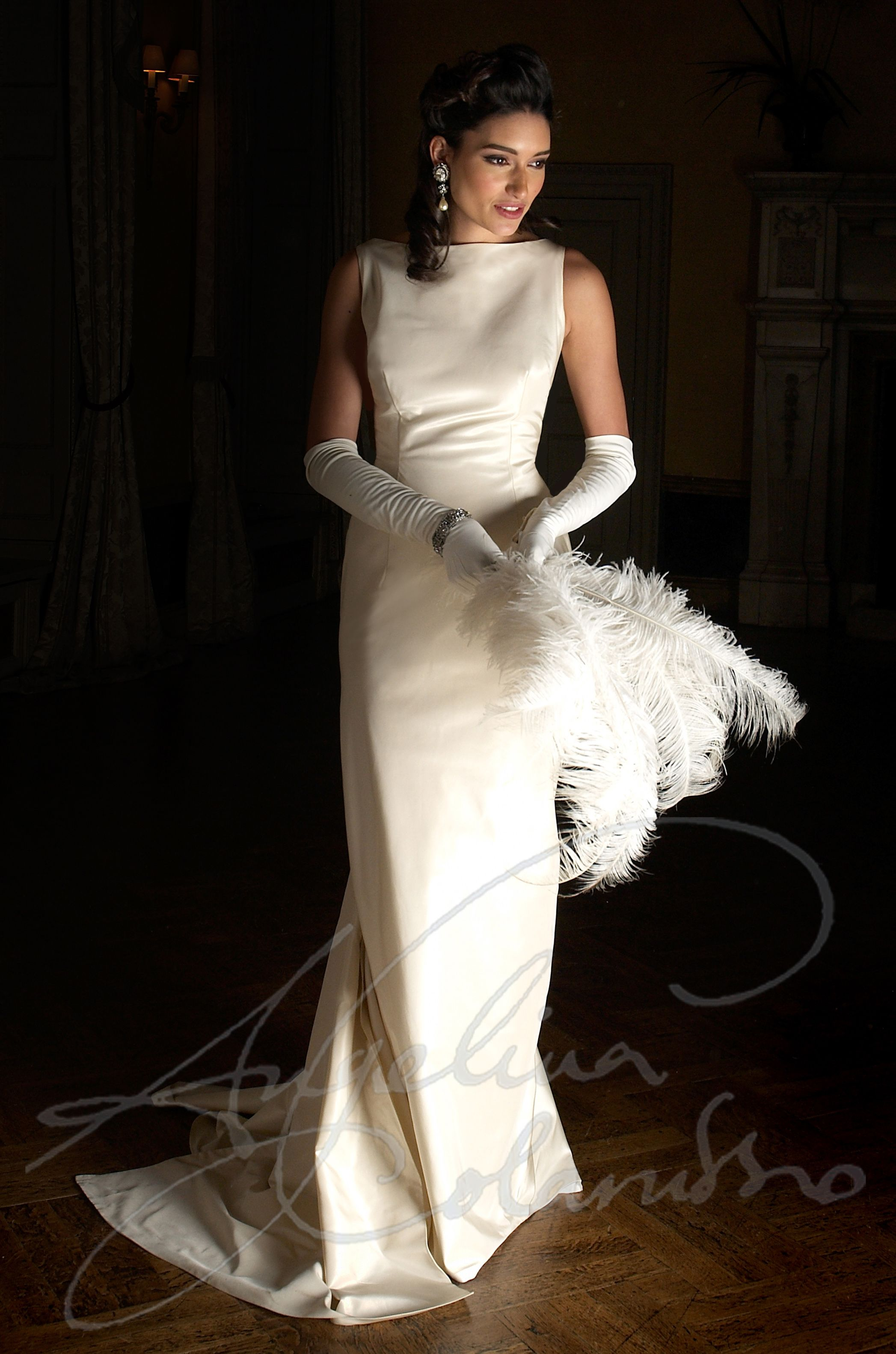 the sabrina gown by couture bridal designer angelina colarusso