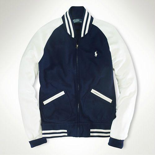 Ralph Lauren Polo. Baseball Style Jacket. Dillard's. | style ...