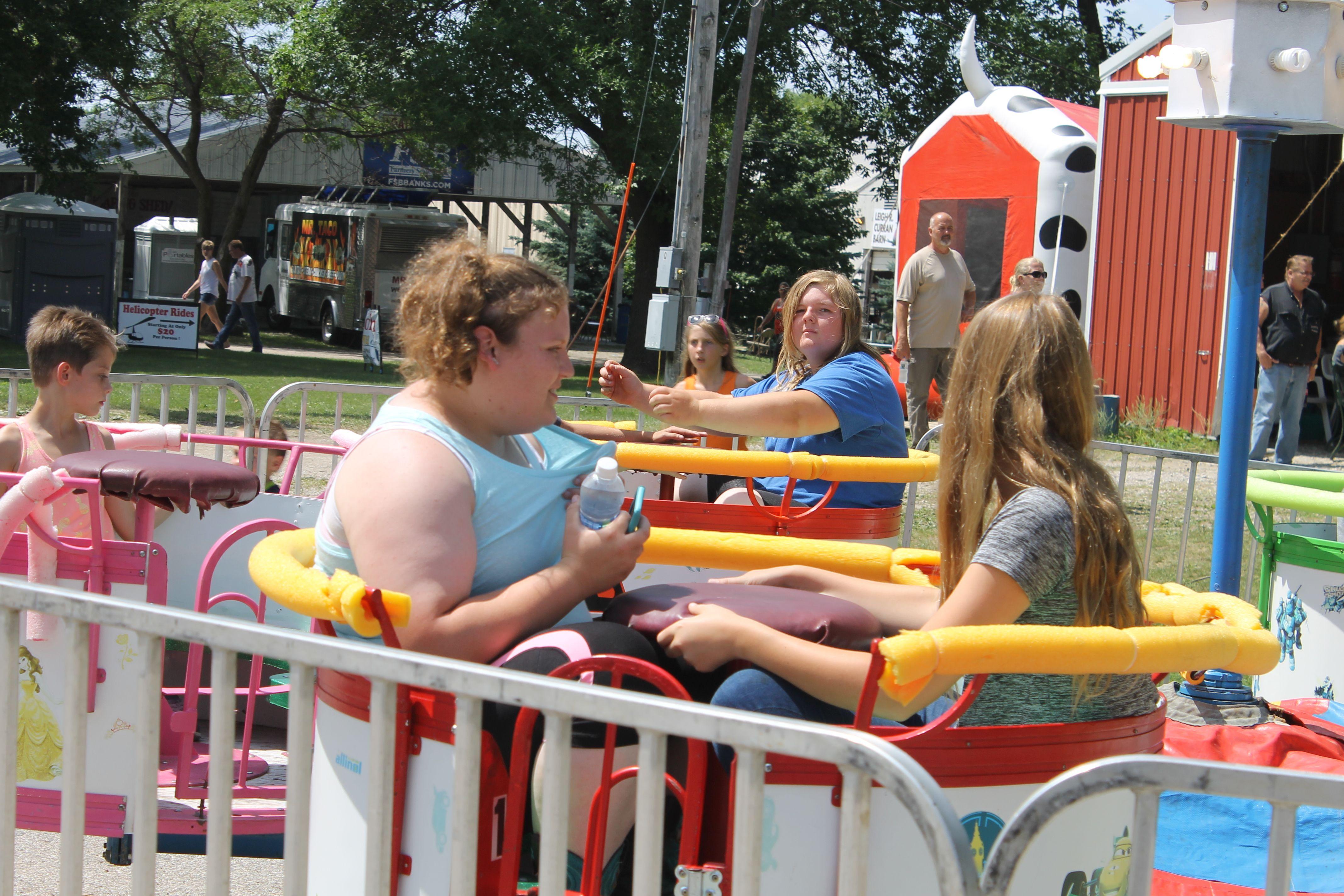 FREE carnival rides at the North Iowa Fair in Mason City ...