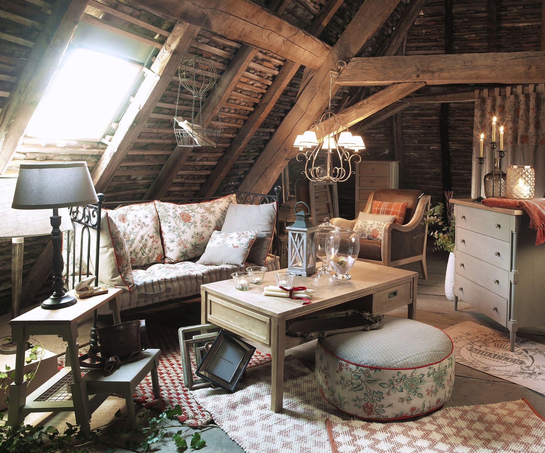 ambiance grenier avec textile editeur. Black Bedroom Furniture Sets. Home Design Ideas