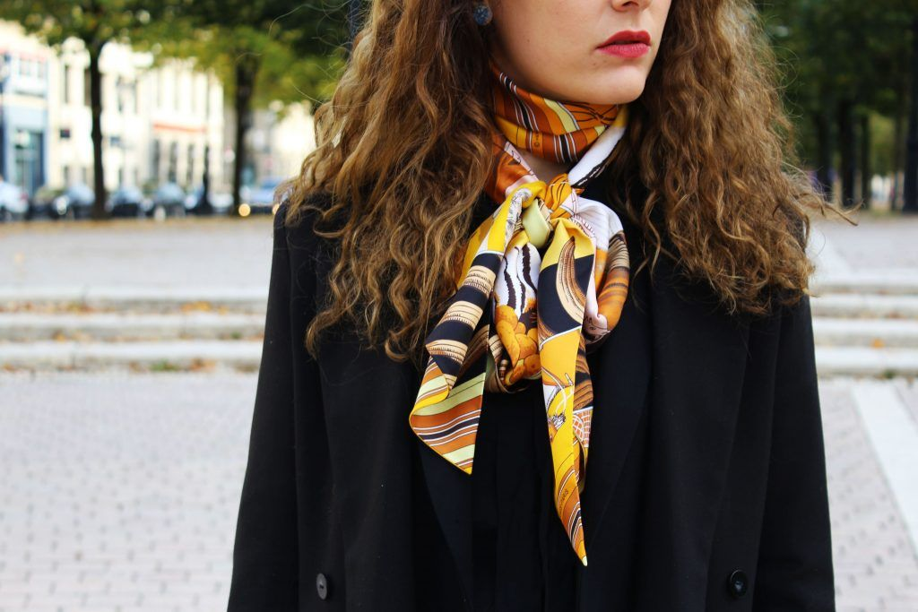 Comment Porter Le Carre Hermes My Style Hermes