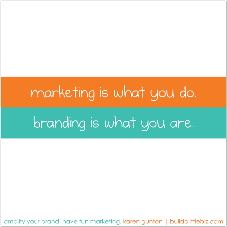 branding vs marketing (and why you need both.)
