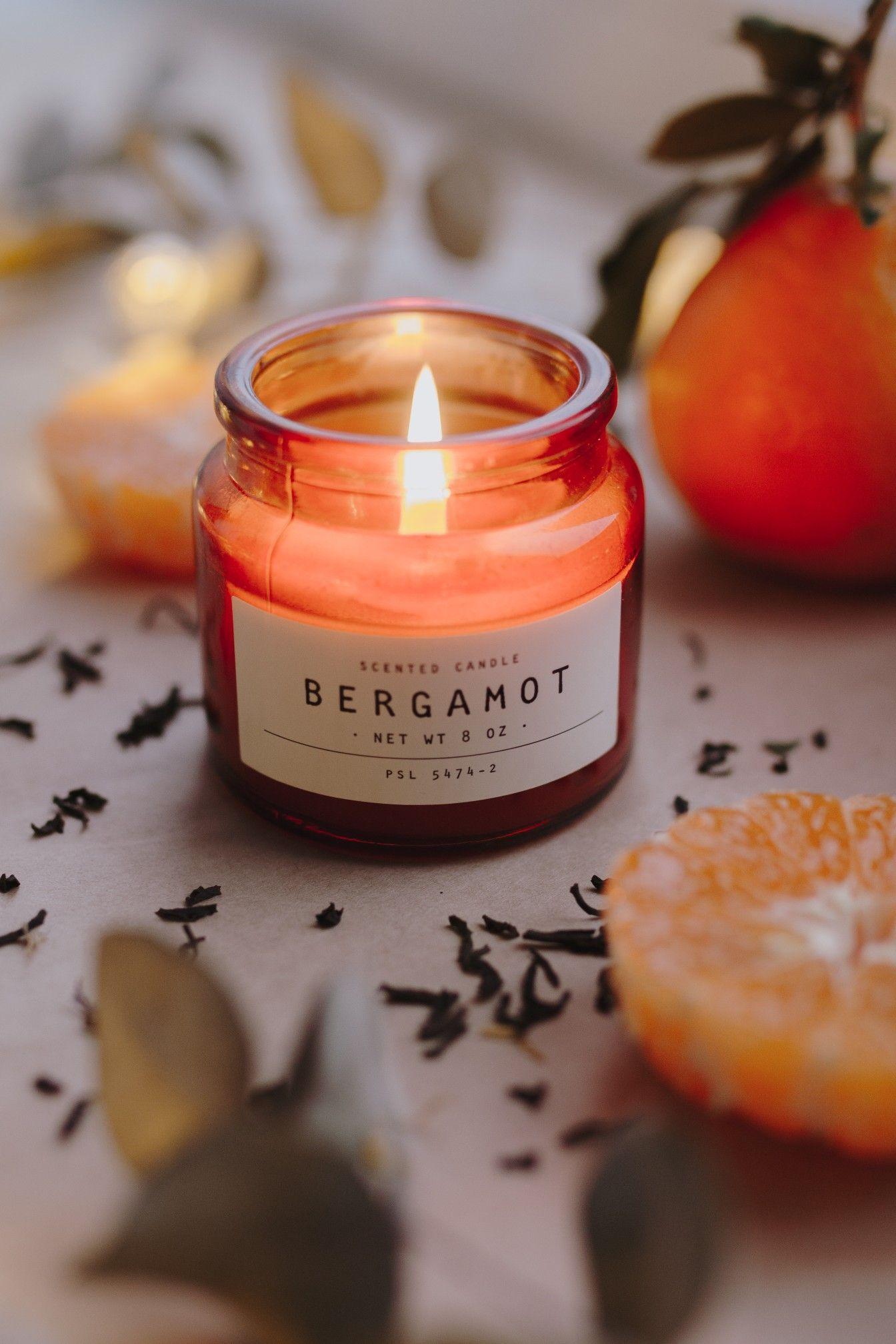 flatlay, HM, candle, wintermood
