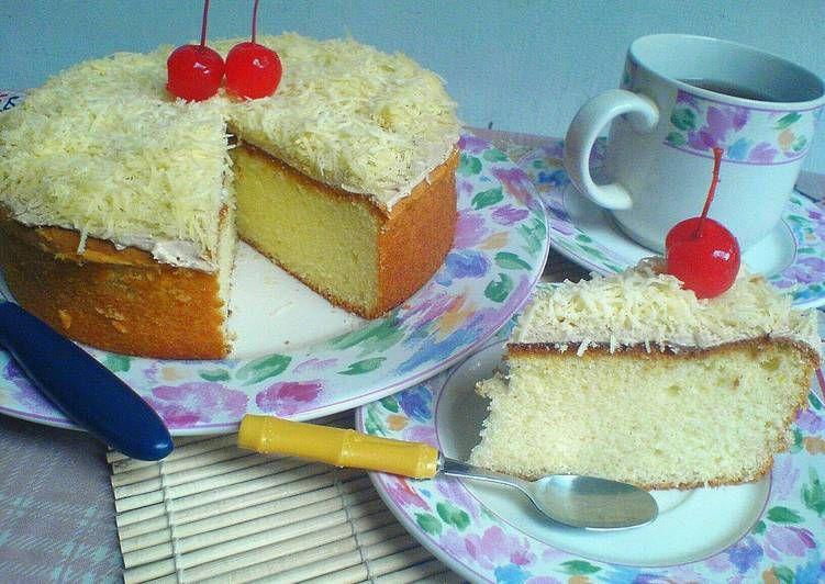 Resep Bolu Jadul Keju Bisa Utk Base Cake Ultah Oleh Meiliani Resep Keju Makanan Kue