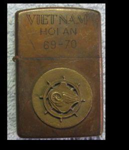 Vintage Vietnam Zippo Lighters | Details about Vietnam War Vintage Zippo Lighter Hoi An 68-69