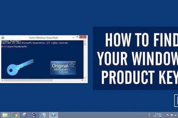 find windows 8 product key regedit