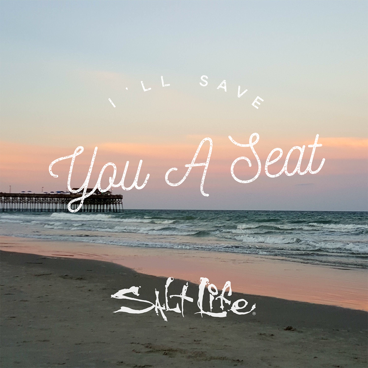 I\'ll save you a seat in paradise! in 2019 | Beach captions ...