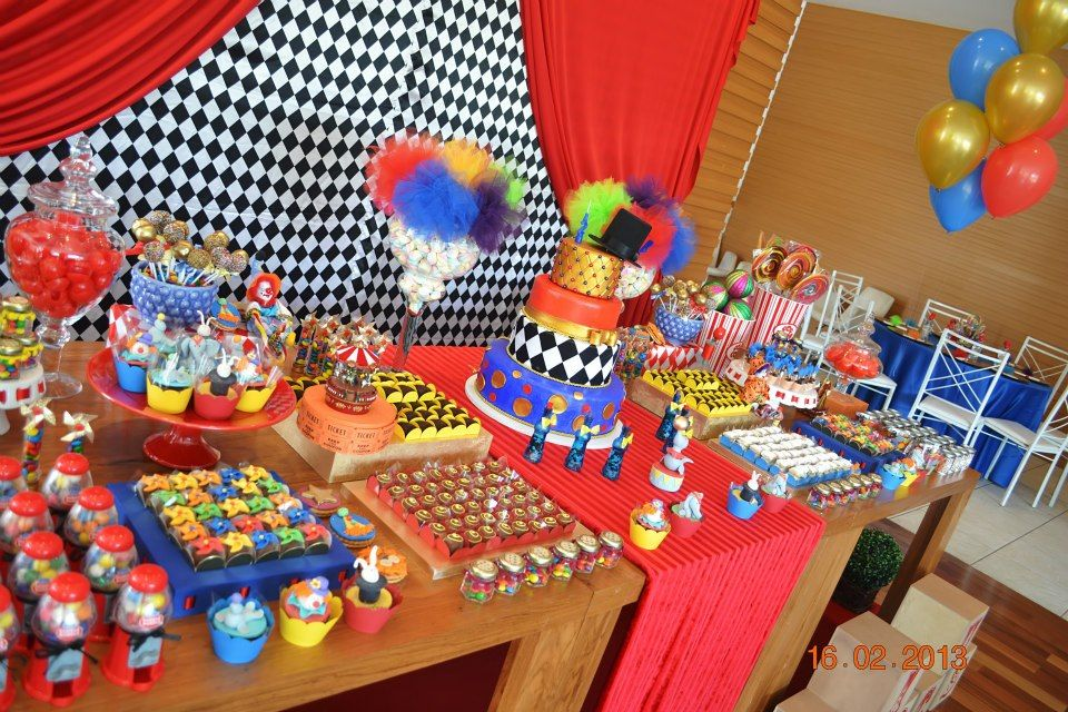 Carnival Theme Party Ideas Decorations Part - 28: Circus / Carnival Theme Party Ideas And Supplies. Find Decorations For A  Perfect Circus / Carnival Theme.