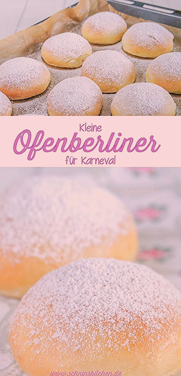 Photo of Kleine Ofenberliner mit Marmelade | Kuchen und torten rezepte, Lecker backen und Kuchen rezepte