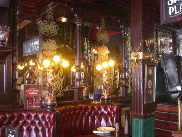 The Salisbury90 St Martins Lane Covent Garden WC2 London Pubs