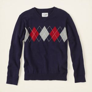 boy - sweaters - argyle v-neck sweater | Children's Clothing | Kids Clothes | The Children's Place