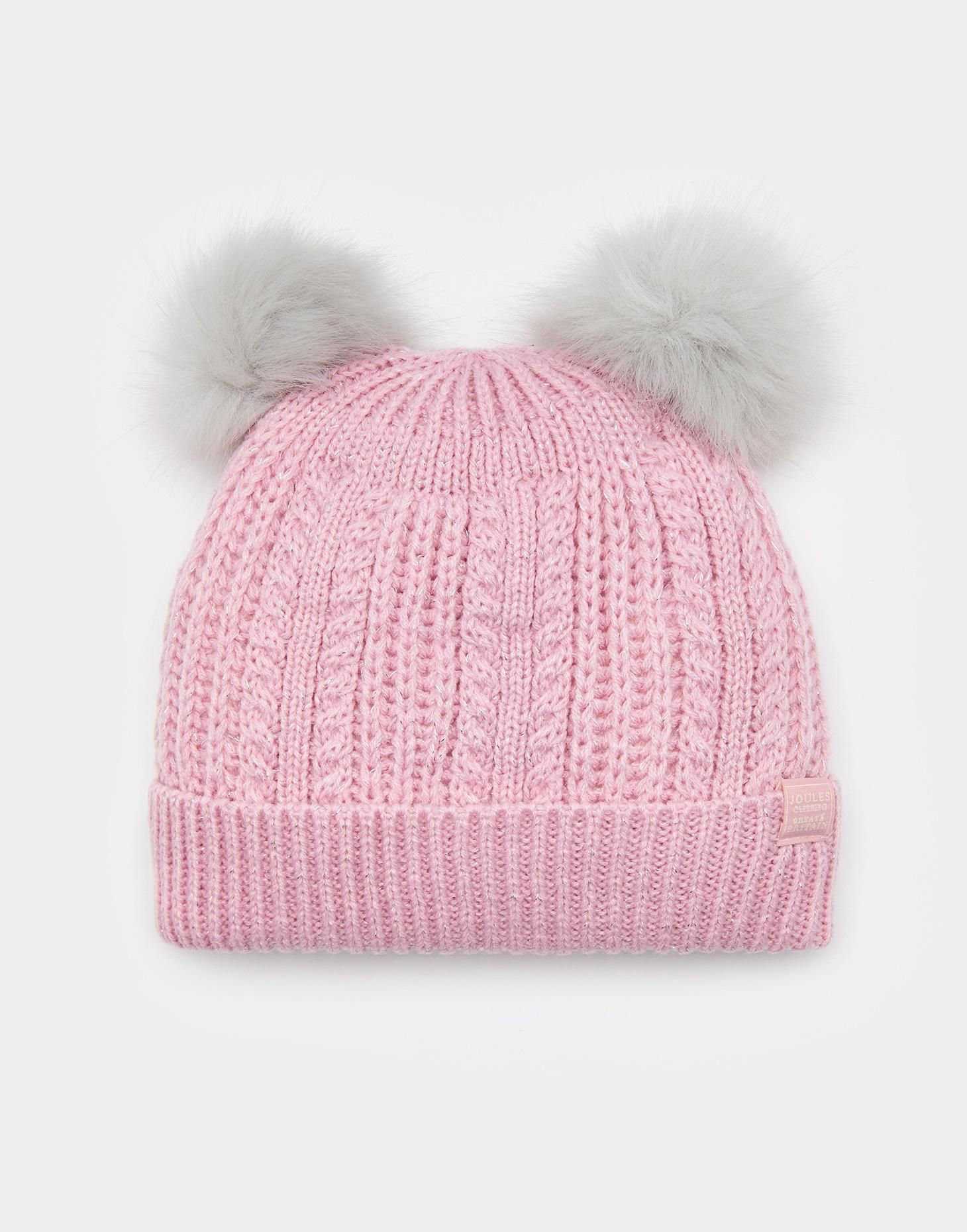 372835f00e0 Ailsa Rose Pink Bobble Hat