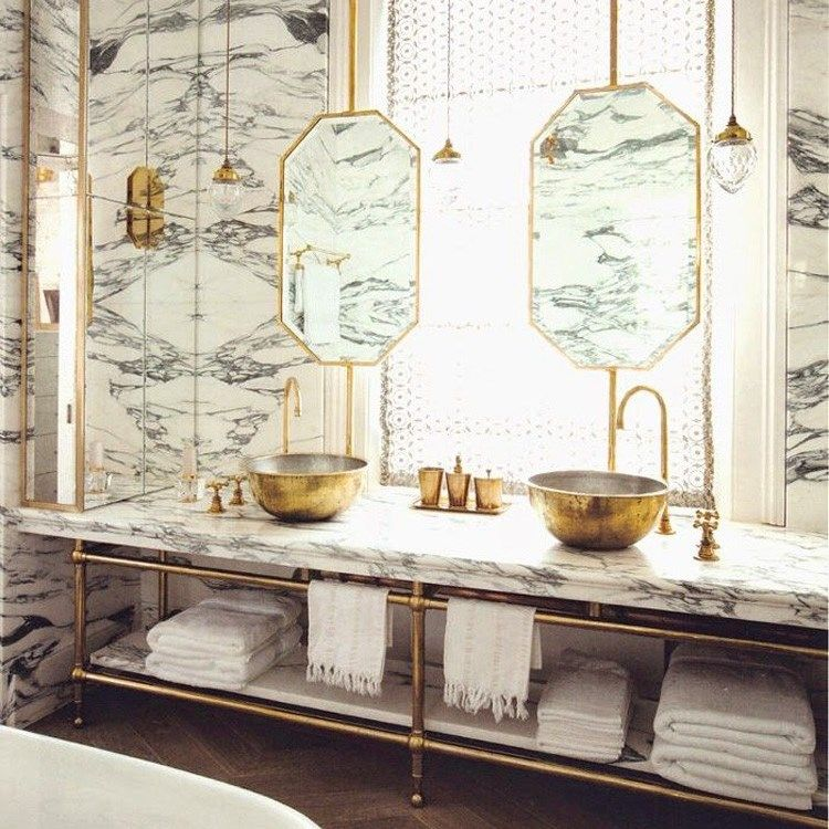 Marble bathroom * Interiors * The Inner Interiorista