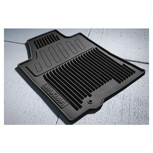 Oem Nissan Maxima Black All Weather Rubber Floor Mats Details