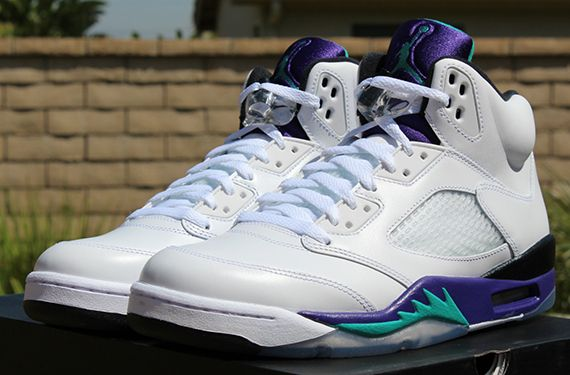 size 40 24b13 c498c air jordan v grape release reminder 6 Air Jordan V Grape Release Reminder
