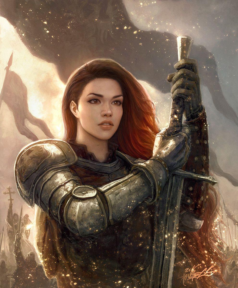 Medieval Fantasy Girl Art