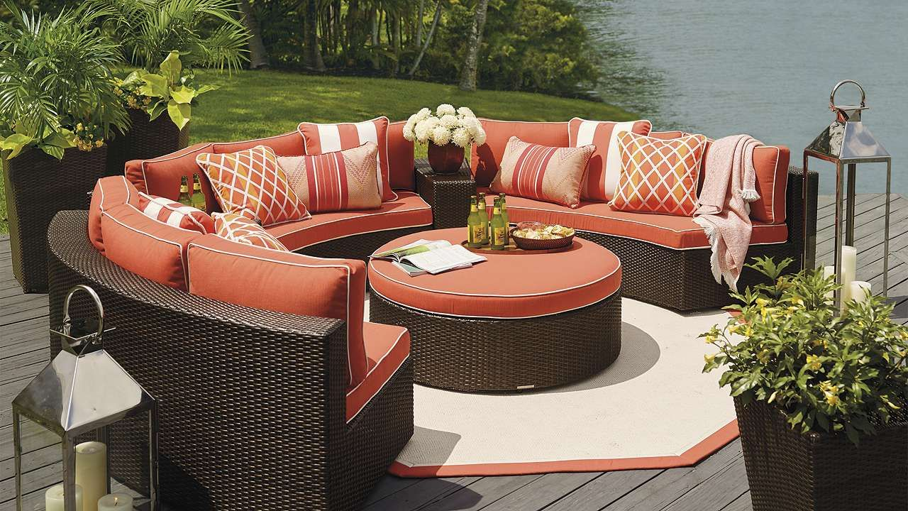 Furniture Decor Pasadena Modular Outdoor Collection