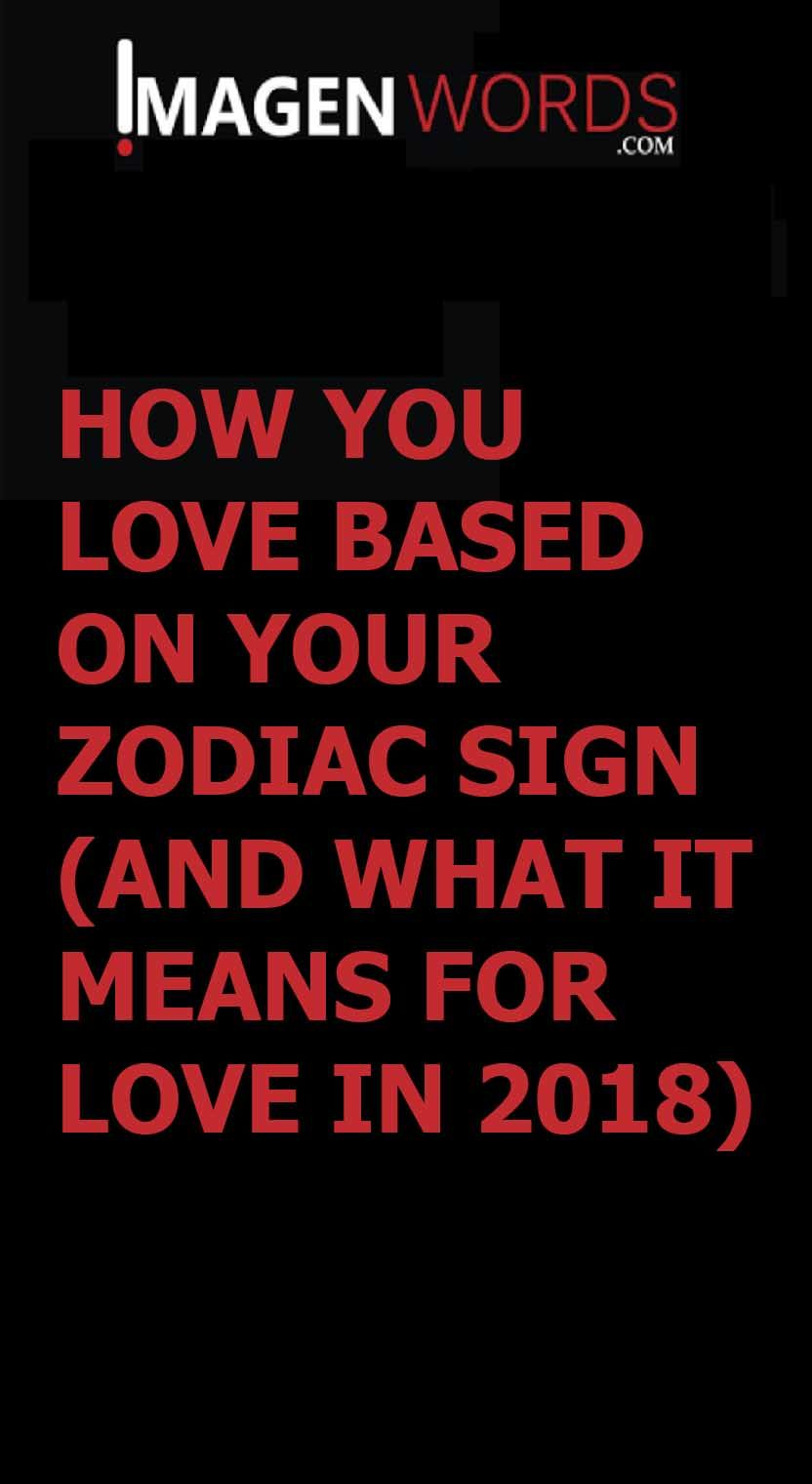 What are you friend in 5 words, depending on the sign of the zodiac
