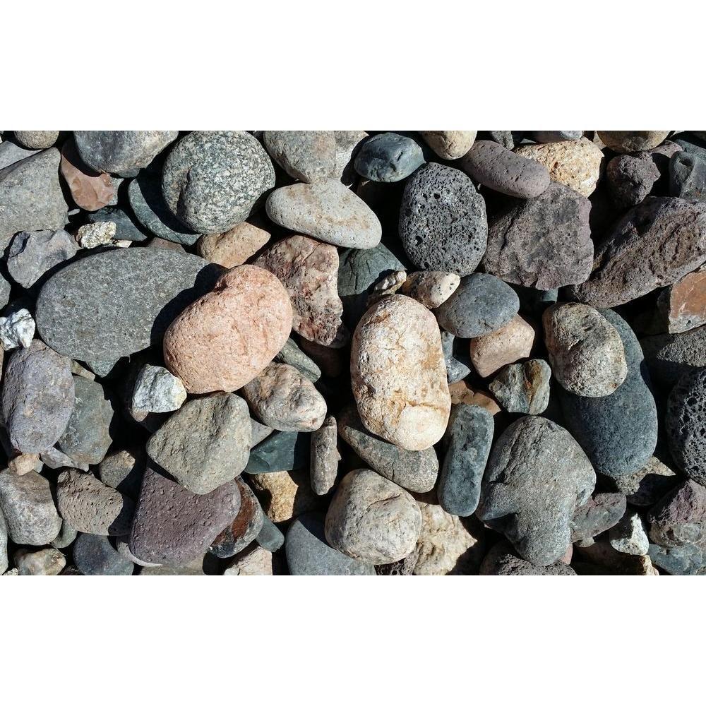 Classic Stone 0 5 Cu Ft Creek Stone R3cs The Home Depot