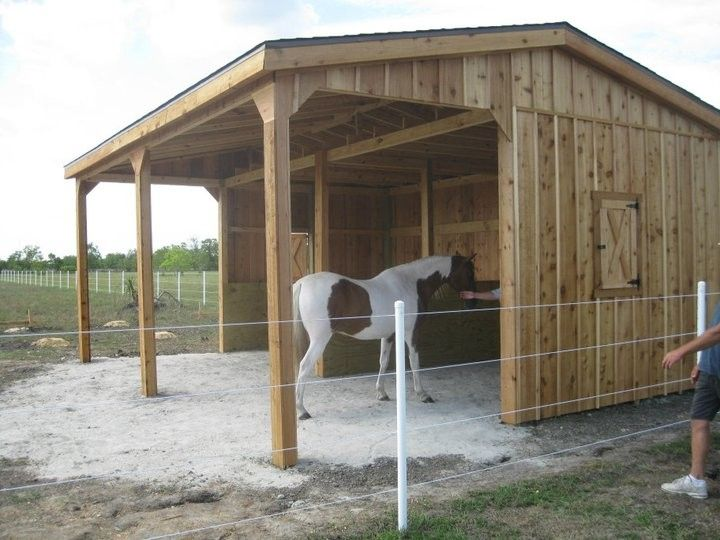 Simple Economical Budget Priced Portable Horse Shelter Run In Shed With Feed Room Attached Small Horse Barn Plans Small Horse Barns Livestock Barn