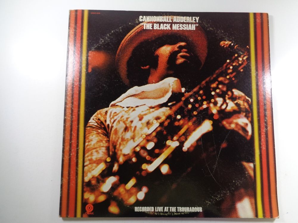 Pin By My Used Shoes On Vinyl Long Play Black Messiah Cannonball Adderley Ebay