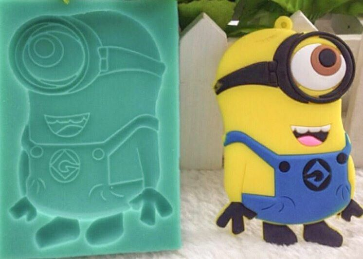 Stuart the Minion Despicable Me Birthday Cake Silicone Mould