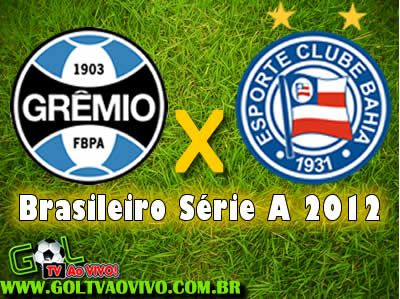 Assistir Gremio X Bahia Ao Vivo 16h00 Campeonato Brasileiro Gremio
