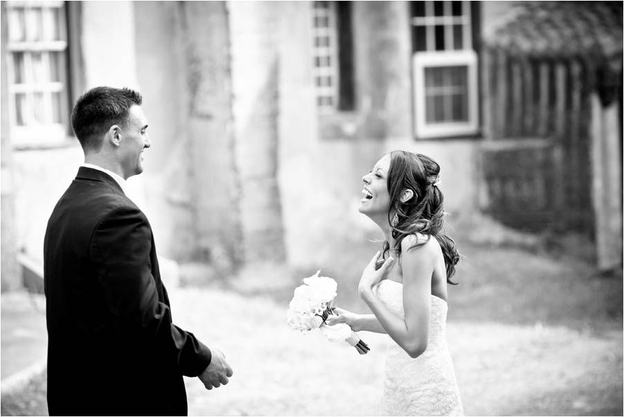 Real-pennsylvania-wedding-black-white-wedding-photo-first-look ...