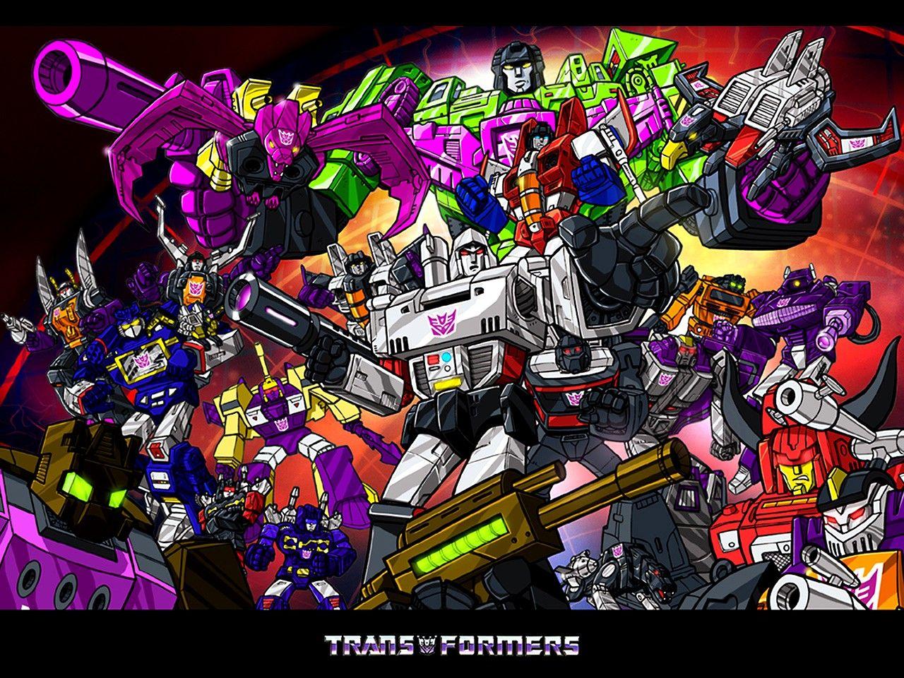 Transformers G1 Wallpapers Transformers Decepticons Transformers Art