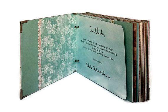 Personalized Anniversary Scrapbook Album di PreciousLifeMoments