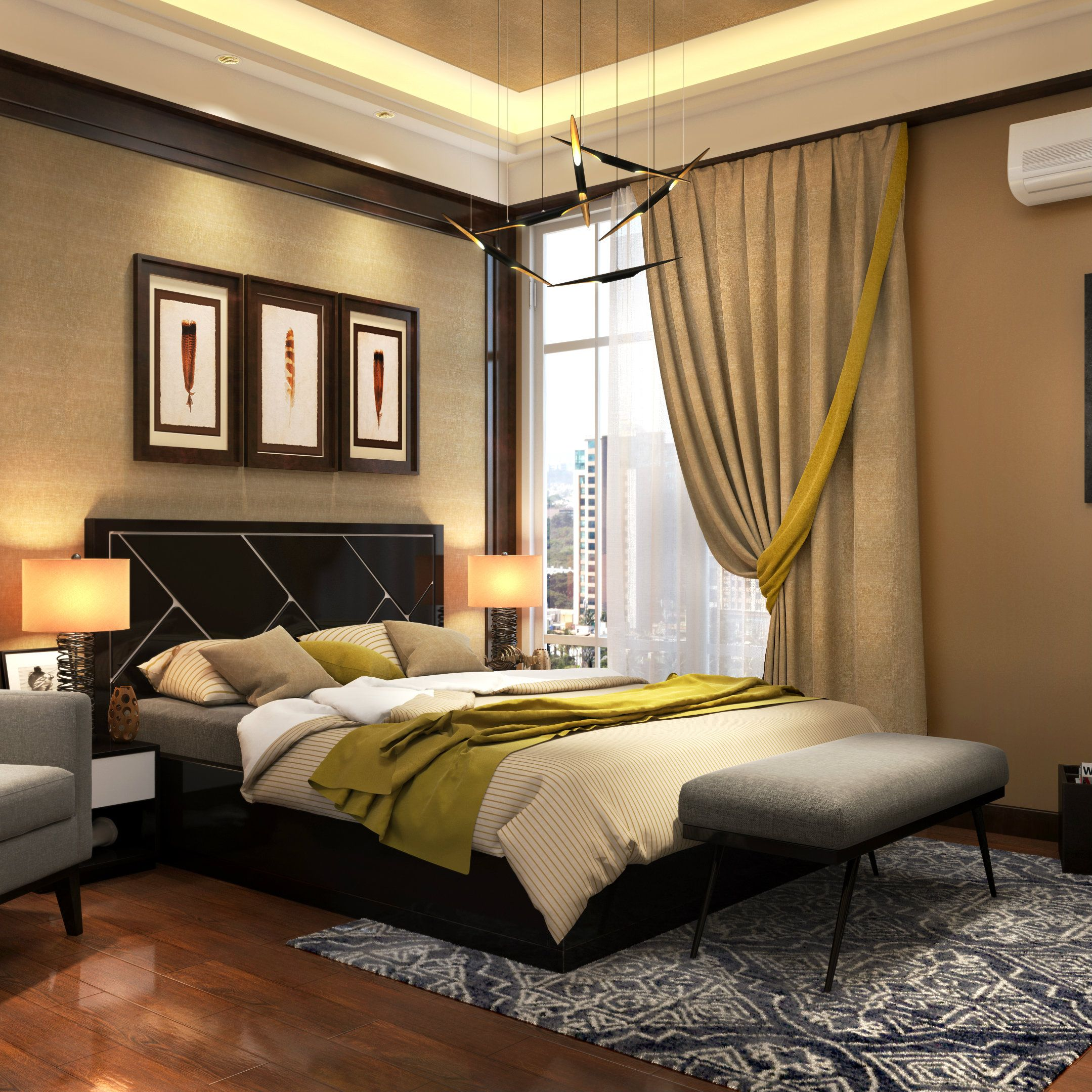 Luxurious Bedroom Design Entrancing A Luxurious Bedroom Design That Lets You Sink Into Splendid Dreams Inspiration Design