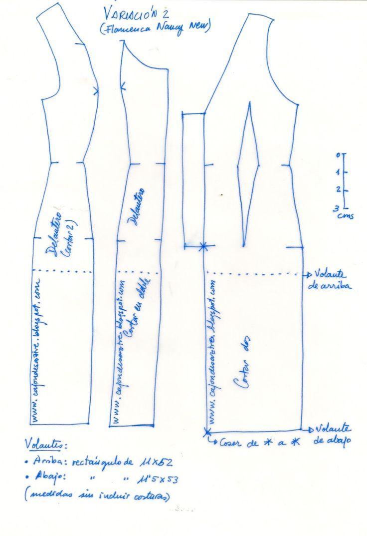 Contemporáneo Tejer Patrones Nancy Foto - Ideas de Patrón de Vestido ...