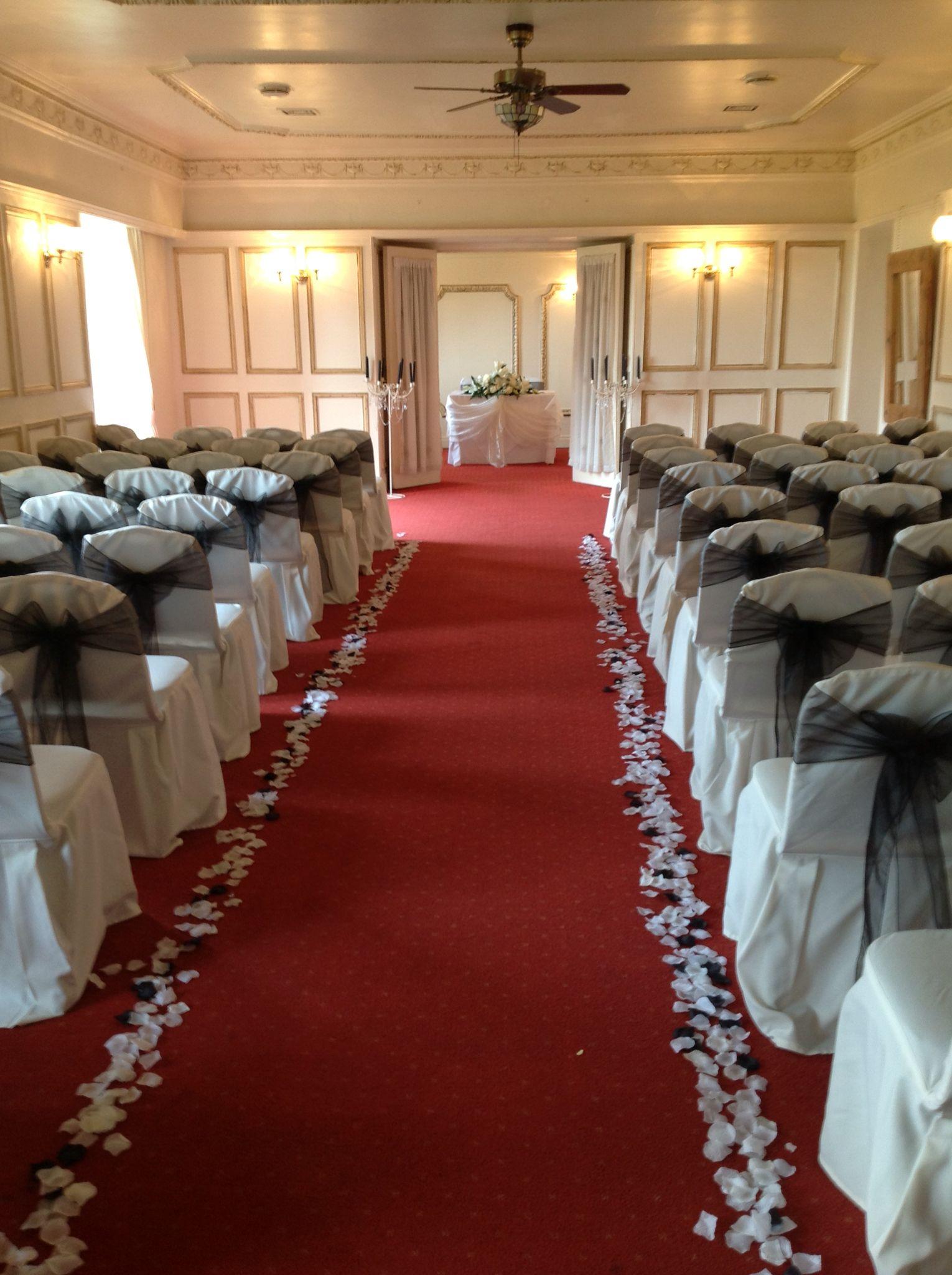 Dunnikier House Hotel All Dressed For A Weddingesh Flowers