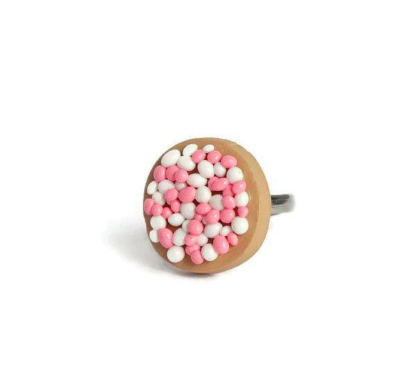 Beschuit met muisjes adjustable ring pink baby girl pregnant babyshower gift Dutch custom