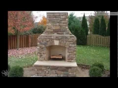 Firerock Fireplaces Manufacture These Modular Outdoor Fireplaces