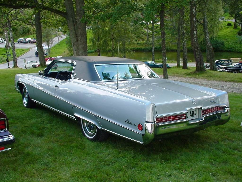 1968 buick electra 225 2 door hardtop front 3 4 81136 - Stratomist Blue Buick Electra 225