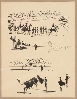 Pablo Picasso, Bullfight