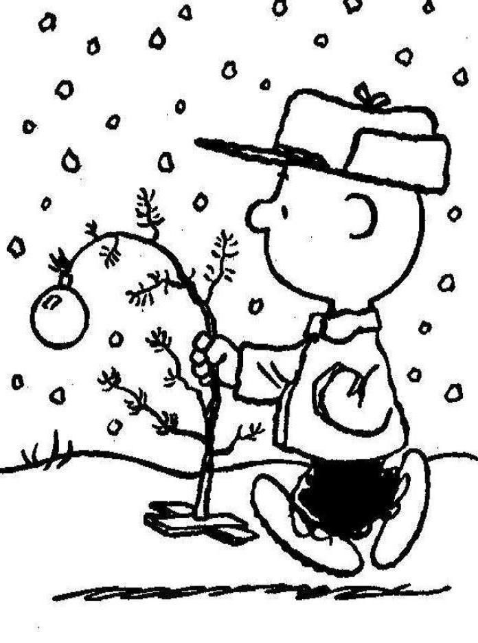 Charlie Brown Christmas Winter Coloring Christmas Coloring Pages Coloring Pages Christmas Drawing