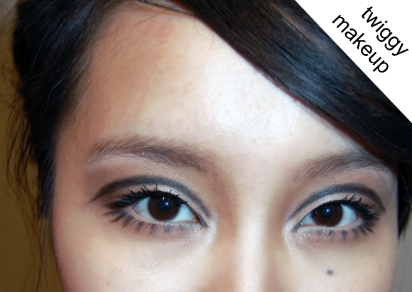 Twiggy Inspired Makeup For Asian Eyes Lovelyish Asian Eye Makeup Asian Eyes Makeup Inspiration