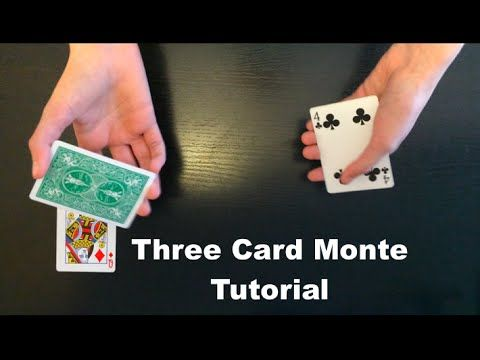 Easy Magic Trick Learn A Simple 3 Card Monte Youtube With