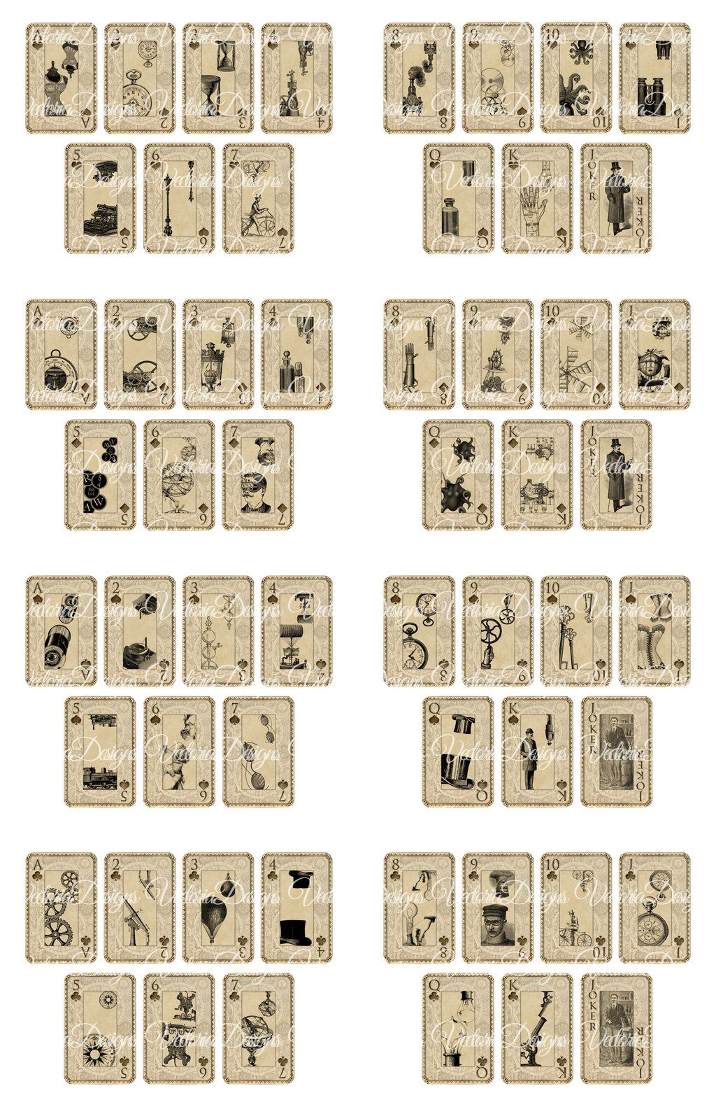 graphic relating to Printable Playing Card referred to as printable deck of playing cards -