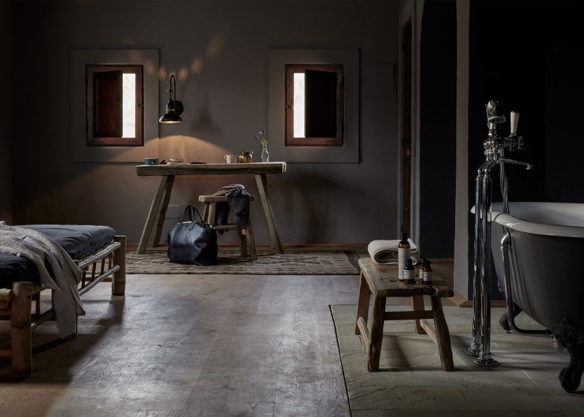 La Granja Ibiza is a members-only retreat with a rustic design
