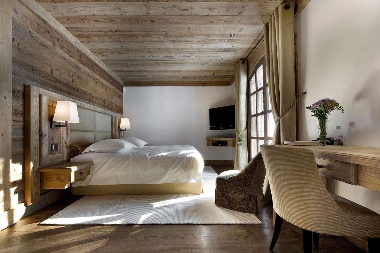 Ski Chalet Style Bedrooms Modern Diy Art Design