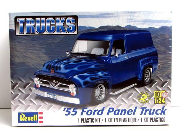 new release plastic model car kits1955 Ford Panel Truck Revell 854337 124 New Classic Truck