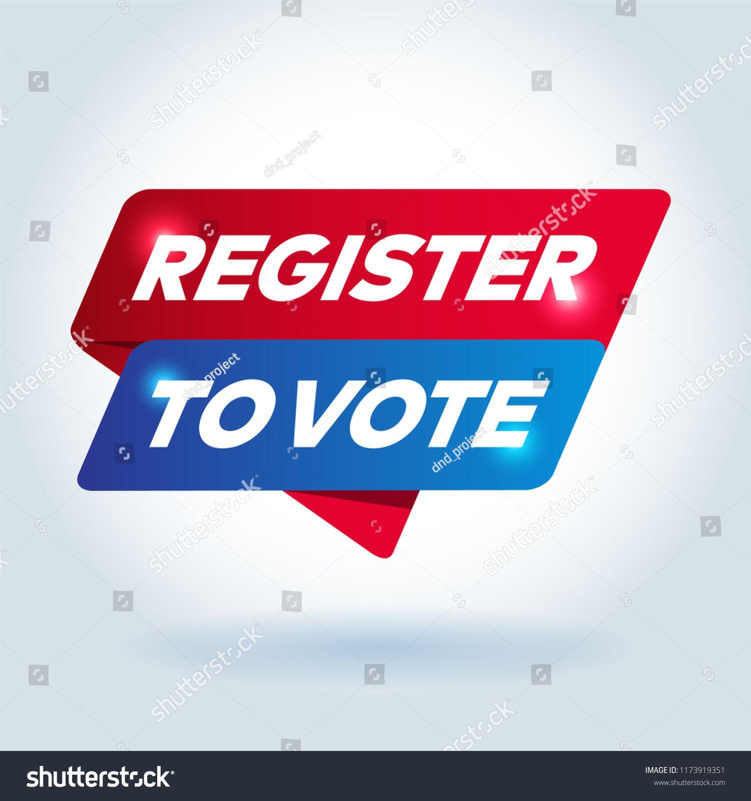 Register To Vote Arrow Tag Sign Vote Register Arrow Sign Logos Design Highway Signs Arrow Signs