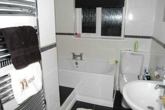 Small L Shaped Bathroom Idea | Small Bathroom, Small Bathroom Layout, L Shaped Bathroom