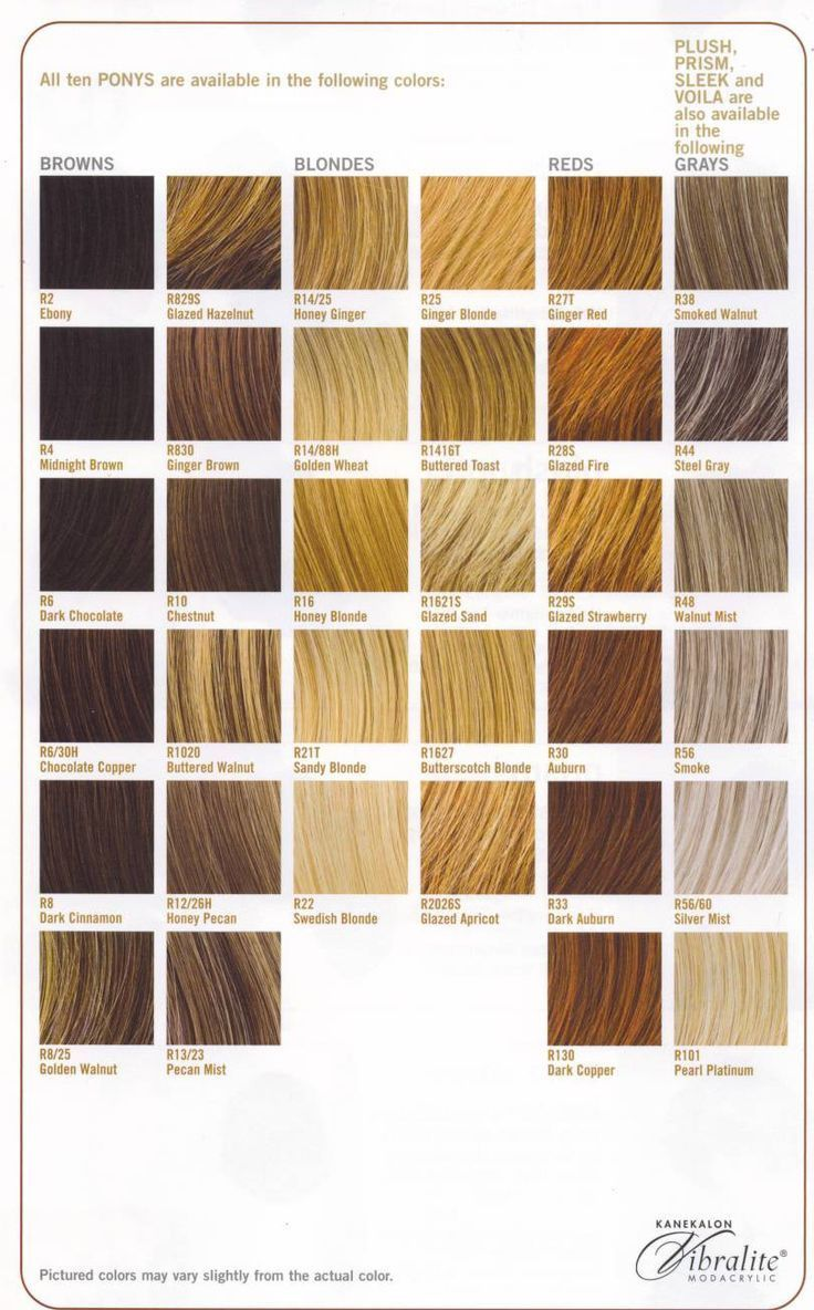 Blonde Hair Color Chart Loreal Todayss