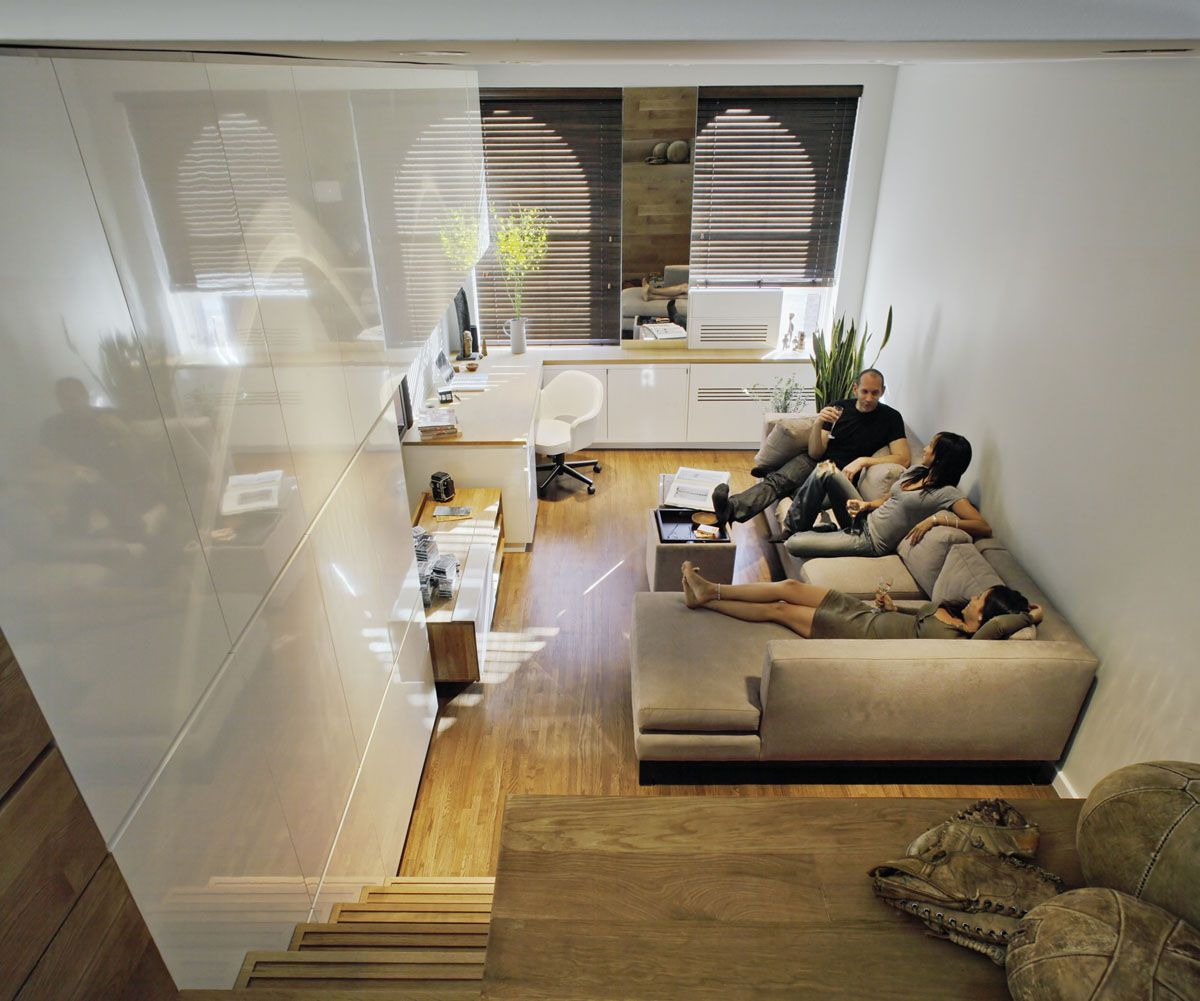 Small Studio Apartment Design In New York Decorating The