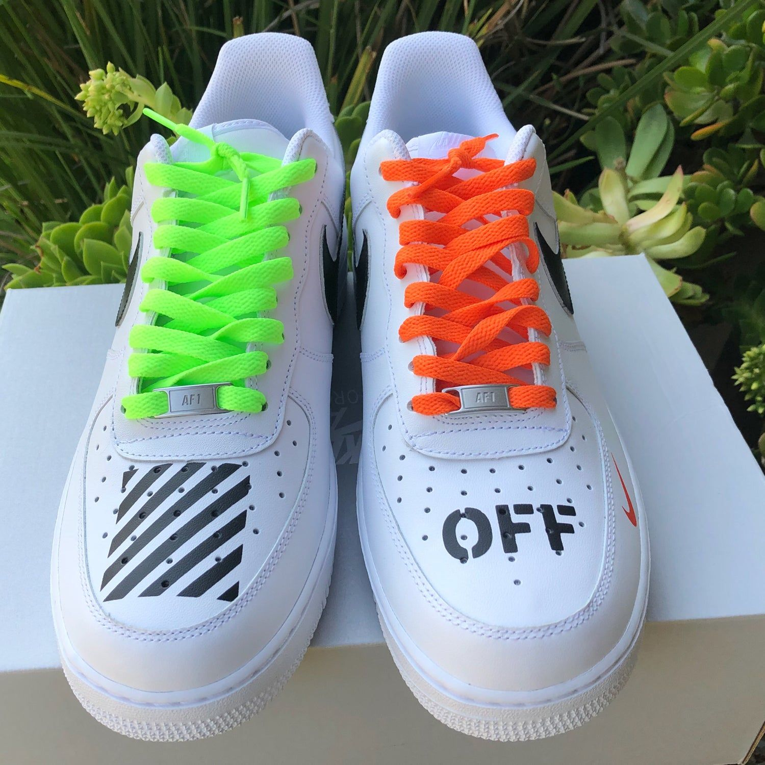 "Air Force 1 ""Off White"" Inspired Customs Alan Castillo"